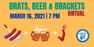 Brats, Beer & Brackets Virtual @ Online